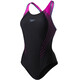 speedo Fit Laneback Swimsuit Women pink/black